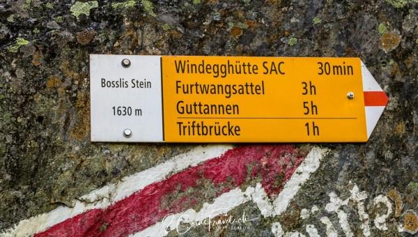 Bössli Stein Weg