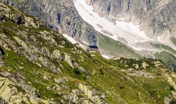 Blick auf die Windegghütte