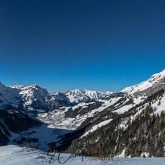 Panorama Blick auf Engelberg