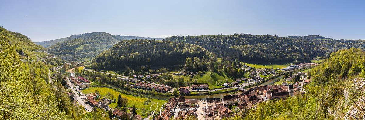Saint Ursanne Panoramablick