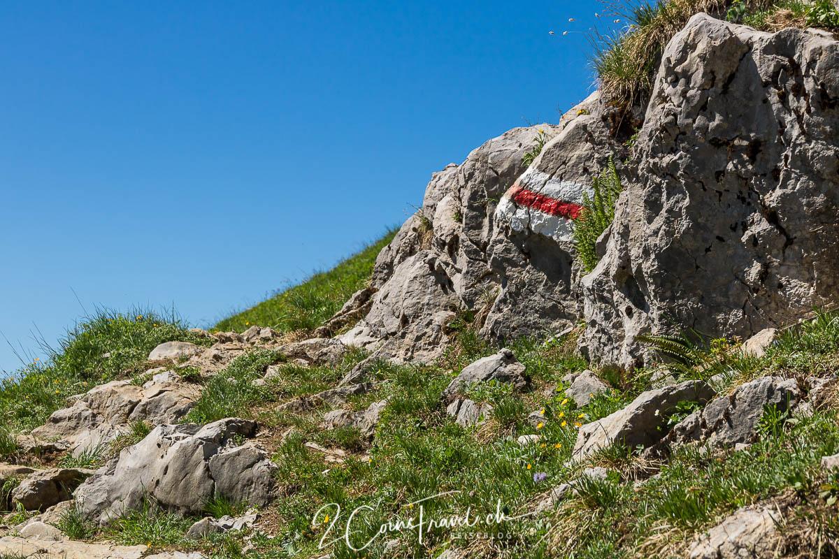 Wanderweg Mattstock