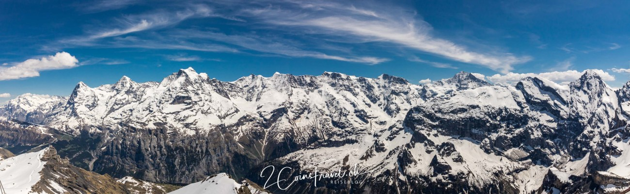 Panorama vom Schilthorn