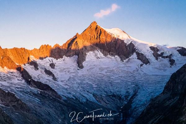 Aletschhorn Sonnenaufgang
