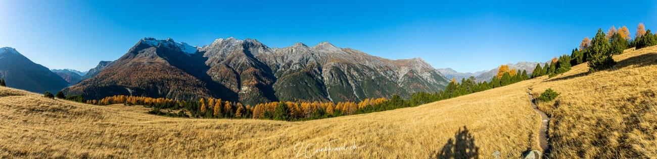 Panorama Alp la Schera