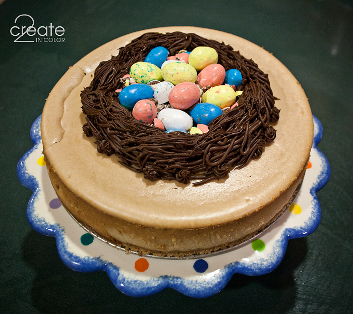 Happy Easter Robins Egg Cheesecake  2Create in Color