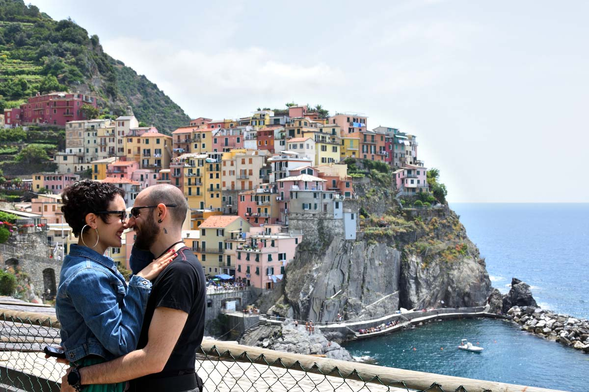 Fuga romantica alle Cinque Terre