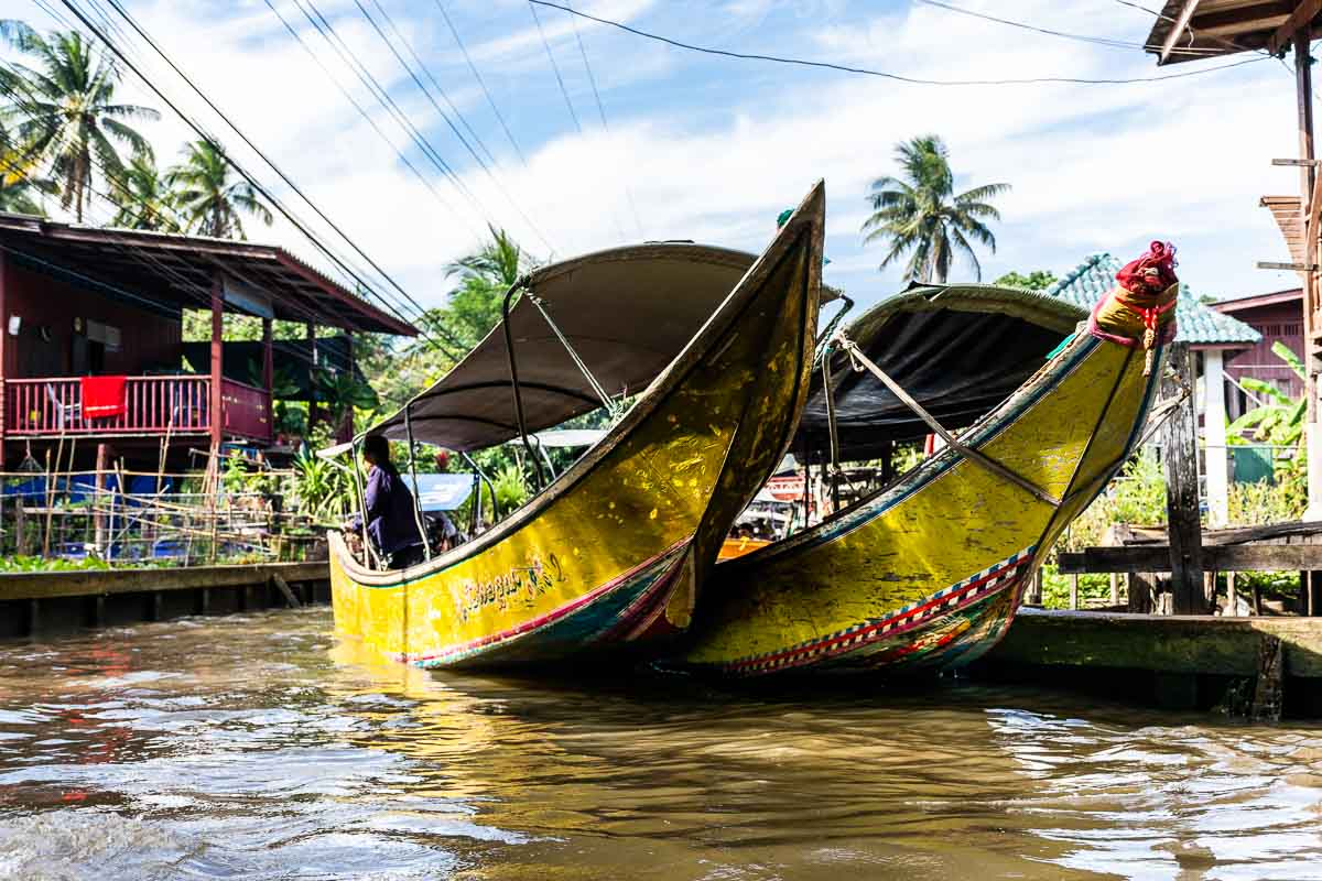 Escursioni a Bangkok : Mercato Galleggiante e Mercato del treno