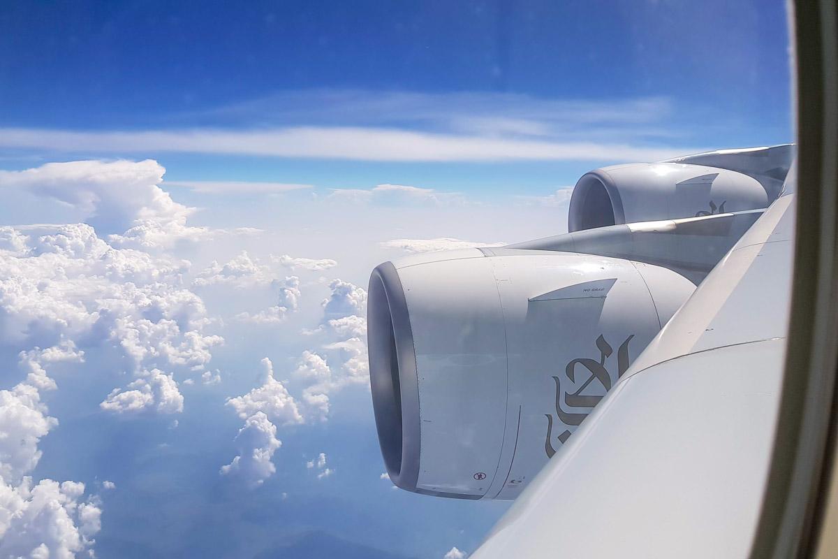 Come affrontare un lungo volo aereo