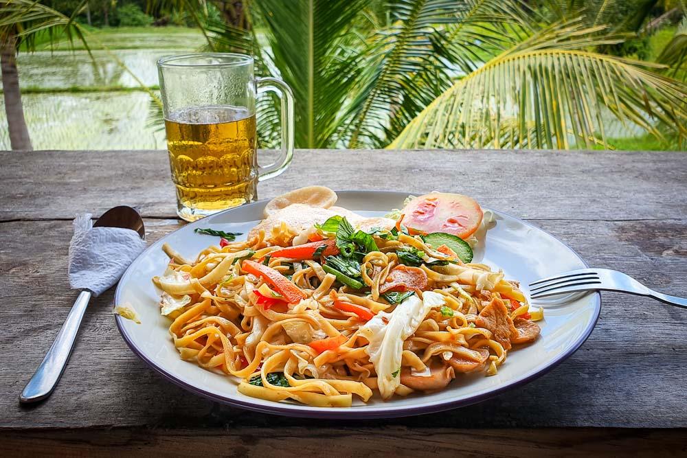 Dove mangiare a Ubud Joglo Organik Mie Goreng 2 Cuori in Viaggio