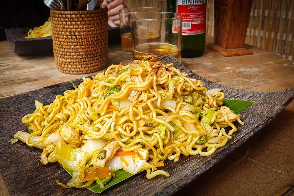 Dove mangiare a Ubud Warung Krisna Mie Goreng 2 Cuori in Viaggio