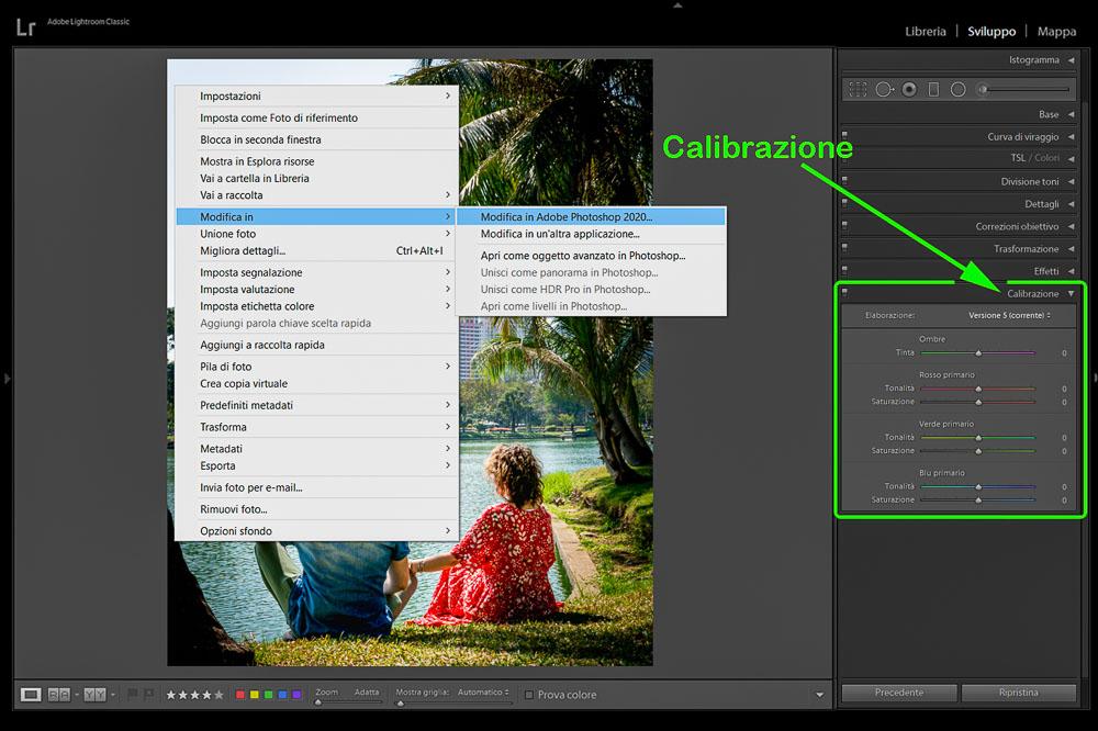 Post Produzione Foto con Lightroom Calibrazione e Photoshop 2 Cuori in Viaggio