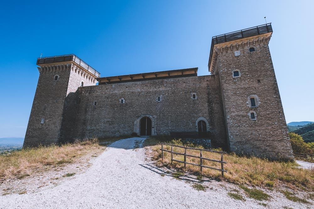 Spoleto cosa vedere Rocca Albornoziana 2 Cuori in Viaggio