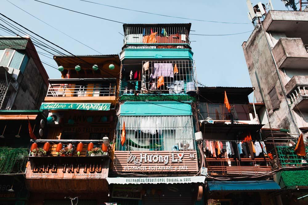 Cosa vedere ad Hanoi palazzi old quarter 2 Cuori in Viaggio