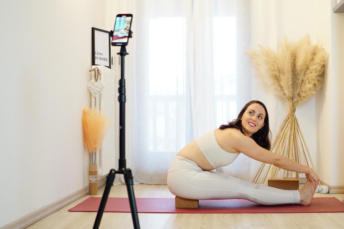 La storia di Silvia di The Yoga First Academy