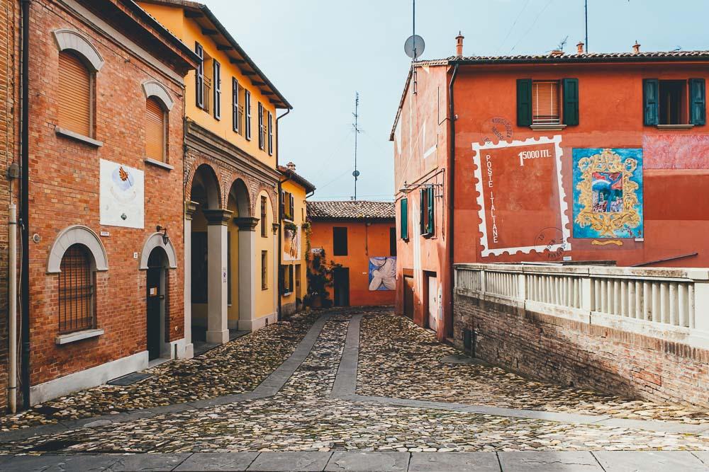 Cosa vedere a Dozza: borgo dipinto vicino a Bologna