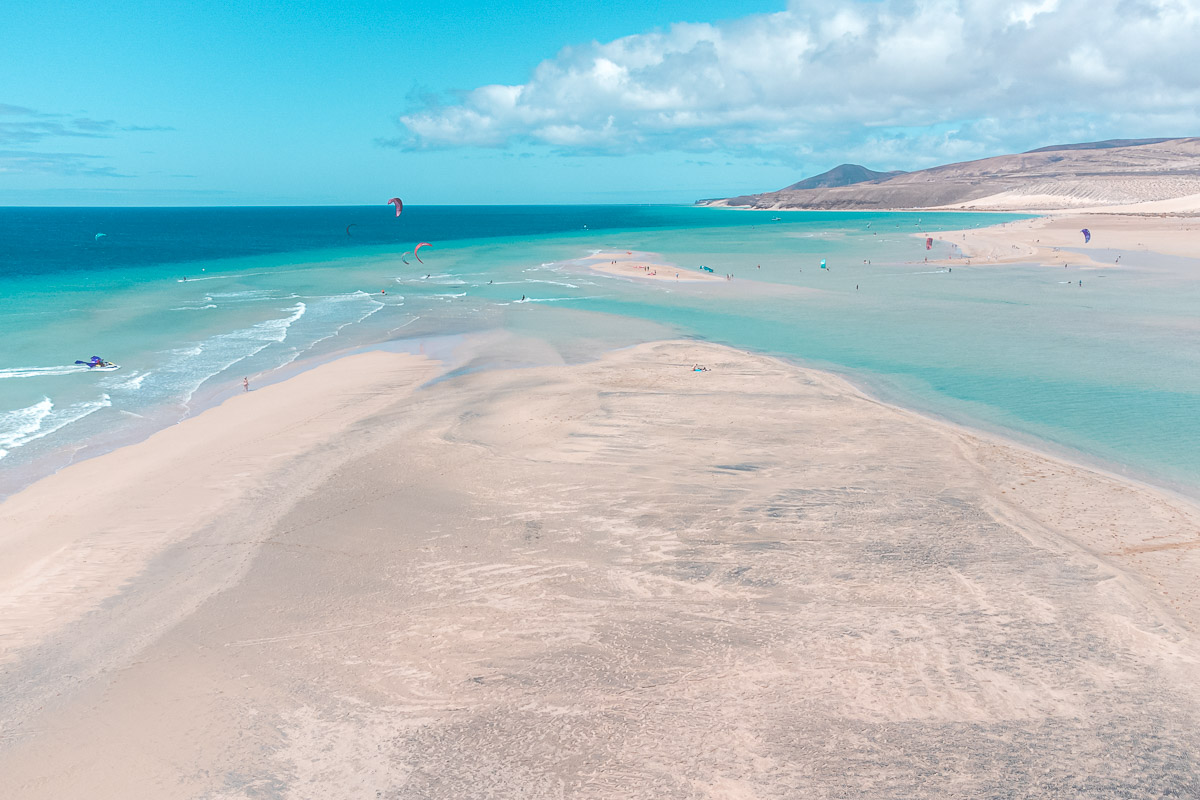 Spiagge a Fuerteventura Playa de Sotavento