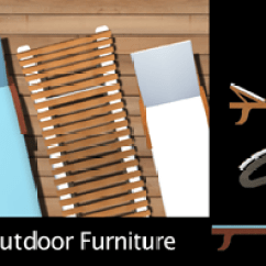 Wood Patio Chair Plans Desk Combo Top View Images For Landscape Rendering - Super Landscaping Plan Software