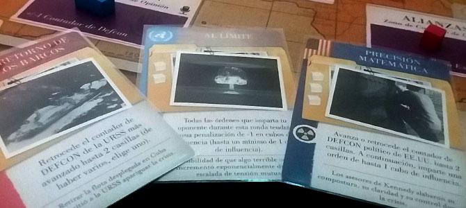 Tres cartas de operaciones, rusa, de la ONU y americana