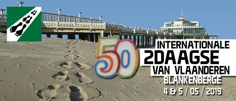 50e Internationale Tweedaagse van Vlaanderen in Blankenberge - 4 & 5 mei 2019
