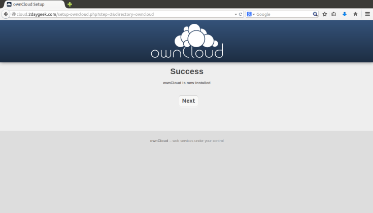 create-your-owncloud-storage-using-owncloud-opensource-app-via-web-installer-method-5
