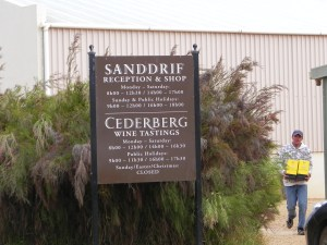 Sanddrif reception, Cederberg and wine tasting