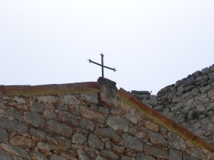 Cross on the chapel