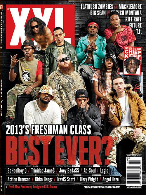 XXL reveals their Freshman Class of 2013