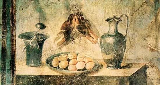 Ab ovo usque ad mala Breve dissertazione sulla cucina romana antica dalla colazione alla cena