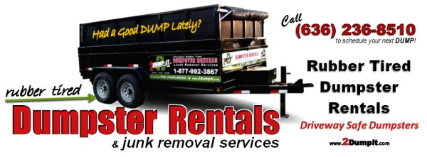 2 DUMP IT Dumpsters and Junk Removal Services - St Louis MO
