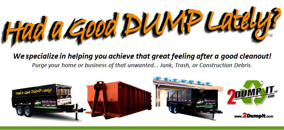 2 Dump It Dumpster Dumpster Rental Roll Off Containers