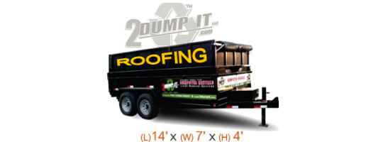 2 DUMP IT Roofing Dumpsters