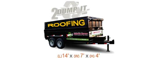 2 DUMP IT Roofing Dumpsters