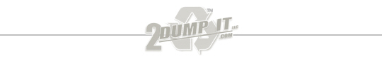 2 DUMP IT Roll Off Dumpster Rentals