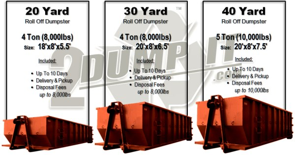 St. Louis MO - Rolloff Dumpster Prices