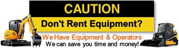 Renting Equipment St Louis MO - Bobcat, CAT, John Deere, JCB