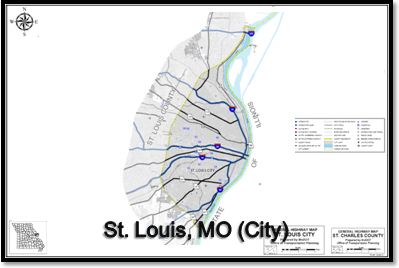 Dumpster Rental St. Louis MO Map – Roll Off Dumpster St. Louis, MO ...