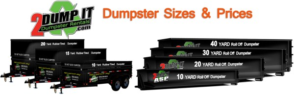 Dumpster Size and Dumpster Price