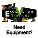 Excavating Contractor, Demolition Contractor, Equipment Rental, Rent Bobcat, Skid Steer, Mini Excavator