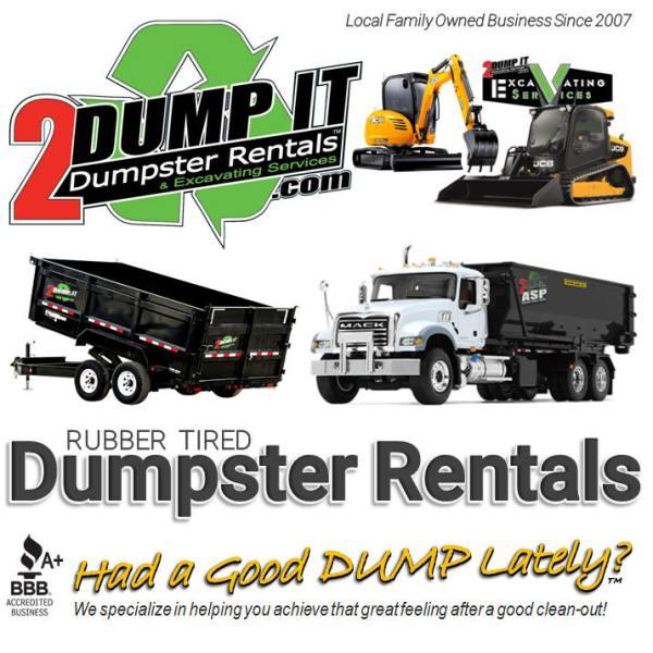 Dumpster Rental - Excavating Contractor - Concrete Contractor