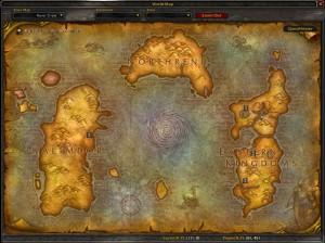 Basic world map