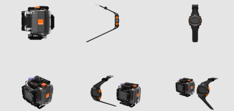 La 4G Cam de ORANGE, la caméra sportive pour le streaming vidéo.