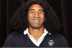 Canberra Raiders star Sia Soliola doesn't look like this anymore…