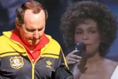 How Alan Jones used Whitney Houston to coach his teams