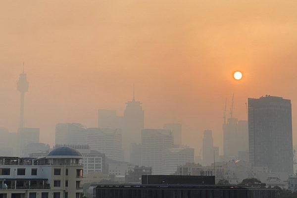 Severe Air Quality Warnings In Place As Sydney Shrouded In