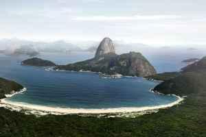 La crique de Botafogo il y a 450 ans.
