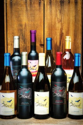 2Hawk Vineyard and Winery Collection of Wines