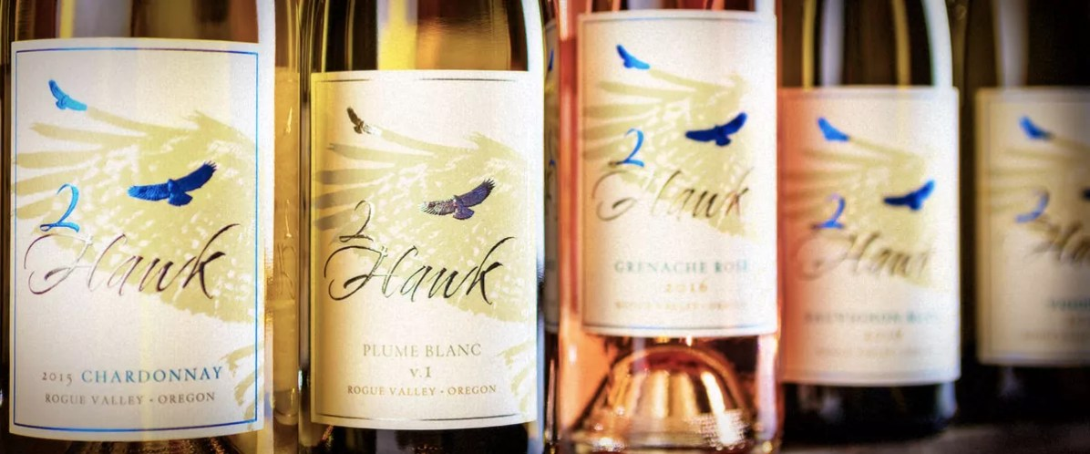 2Hawk Vineyard and Winery White Wines