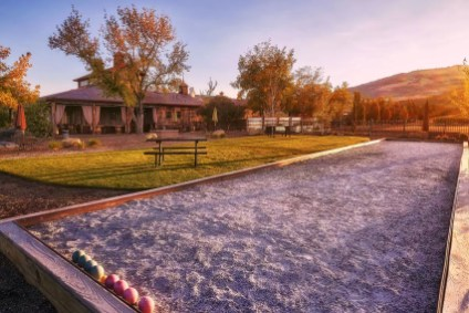 2Hawk Vineyard and Winery Tasting Room and Bocce Ball Court