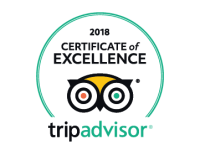 TripAdvisor 2018 Certificate of Excellence Logo for 2Hawk Vineyard and Winery