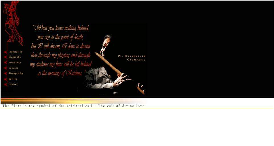 The official site of Pandit Hariprasad Chaurasia